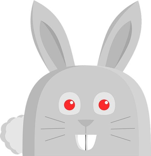 目の充血のイメージ