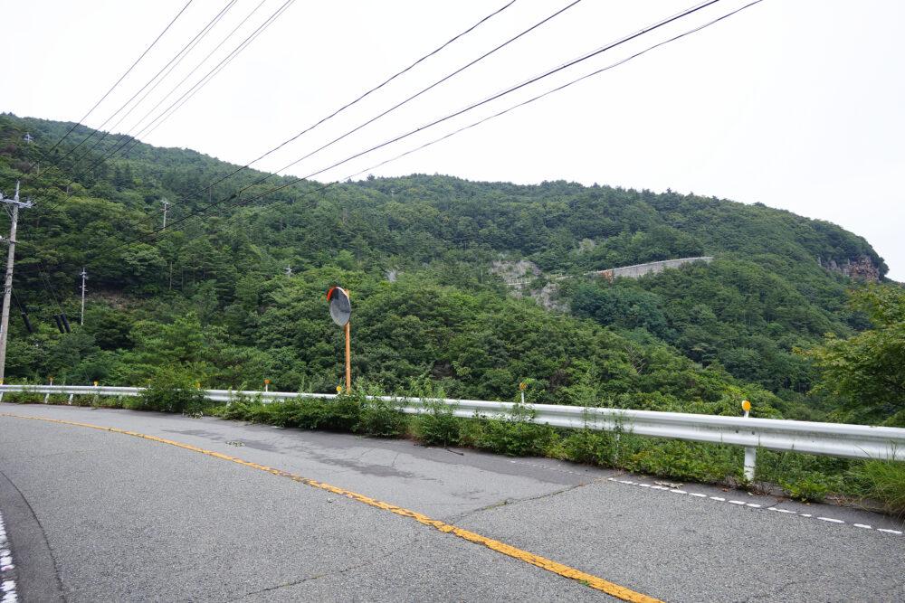 小豆島 寒霞渓への長い坂道
