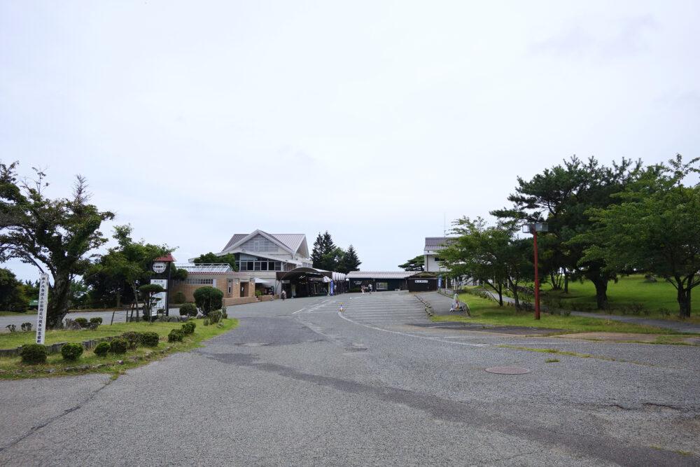 小豆島 寒霞渓の駐車場