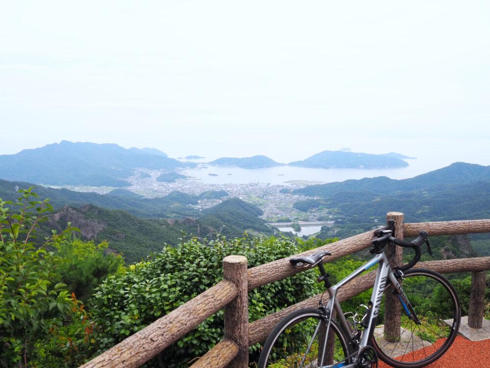 小豆島 寒霞渓からの景色