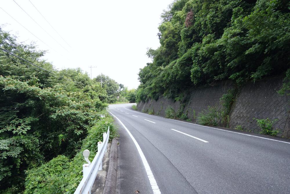 小豆島寒霞渓の坂道