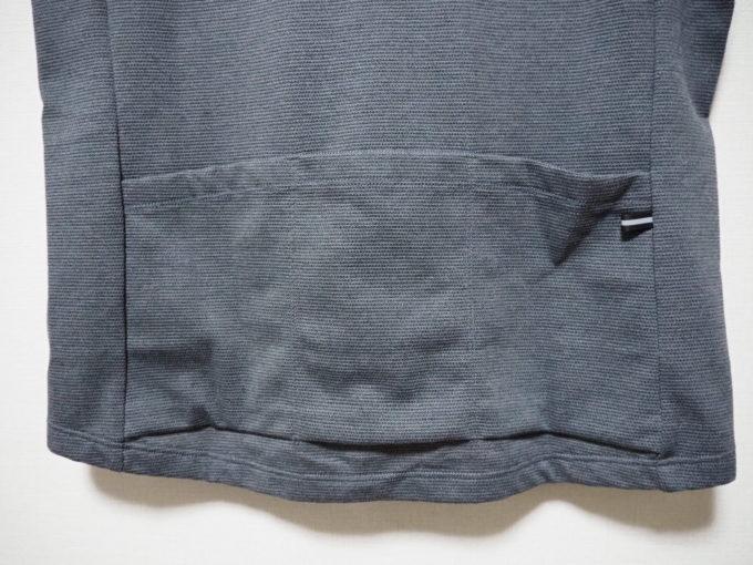 カペルミュール 半袖ジャージ鹿の子 背中ポケット