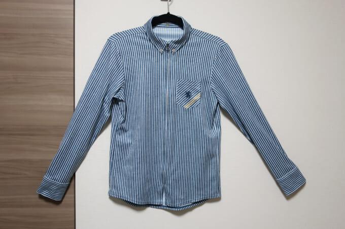 【カペルミュール 長袖シャツジャージ】レビュー|ワイシャツなのにサイクルジャージ?がおしゃれ!