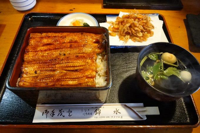 【錦水】霞ヶ浦潮来|かすいちのランチにがっつりウナギを食べてきた!