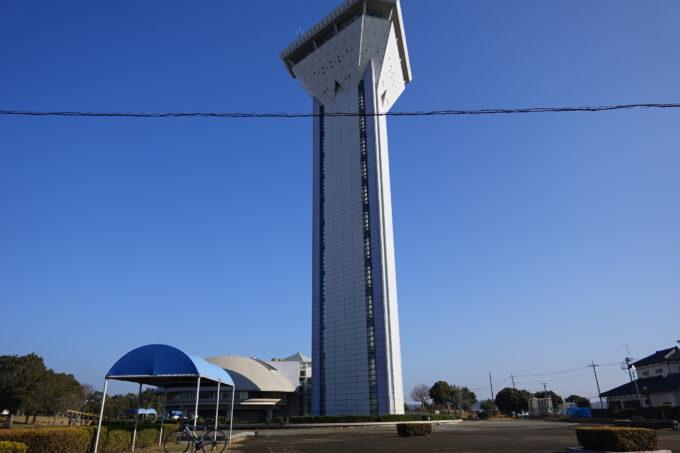 霞ヶ浦ふれあいランド 親水公園「虹の塔」