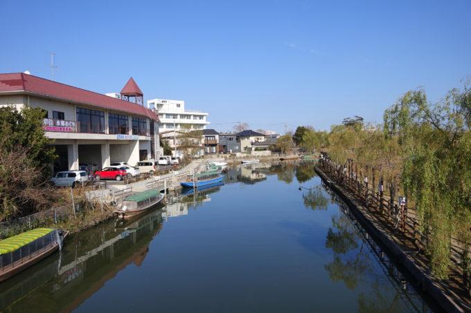潮来の水郷の風景