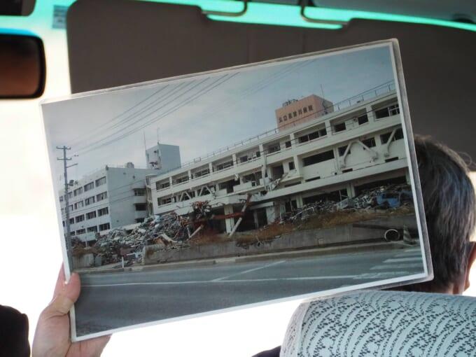 南三陸の病院の被災の様子