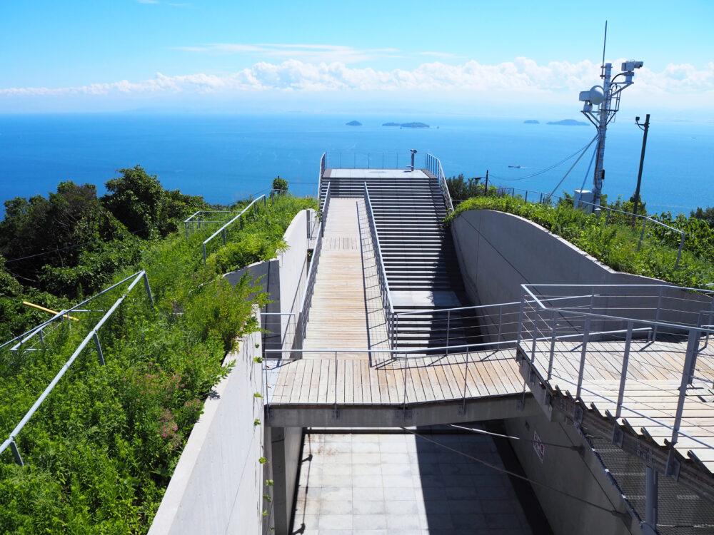 しまなみ海道大島 亀老山展望台