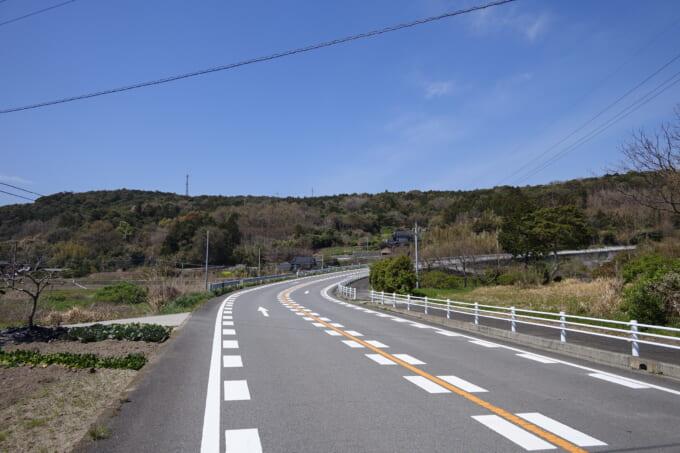 国東半島仁王輪道 国見の道路