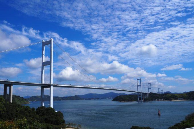 来島海峡大橋 遠景