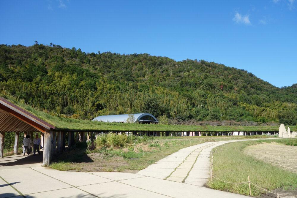 ラコリーナ近江八幡の敷地の風景