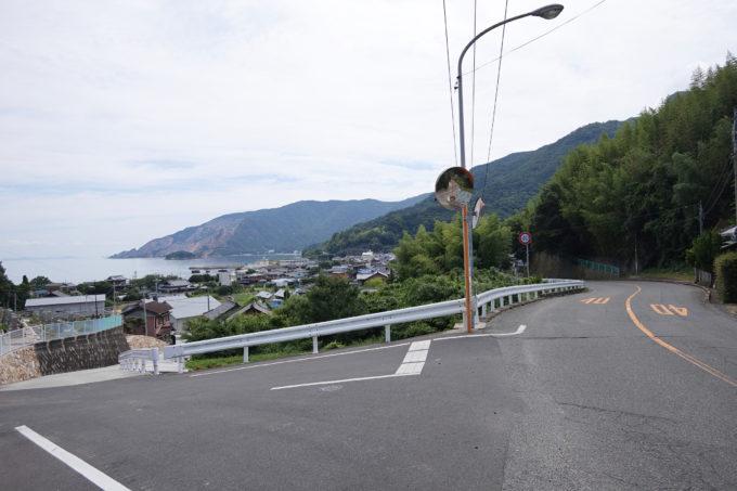 小豆島 大部の坂の上からの景色