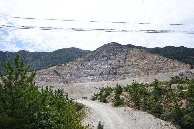 小豆島の採石場