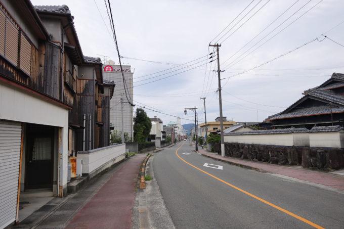 小豆島一周マメイチ 安田の市街地
