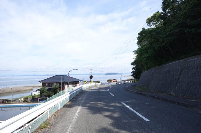 小豆島一周マメイチ 土庄の水平線