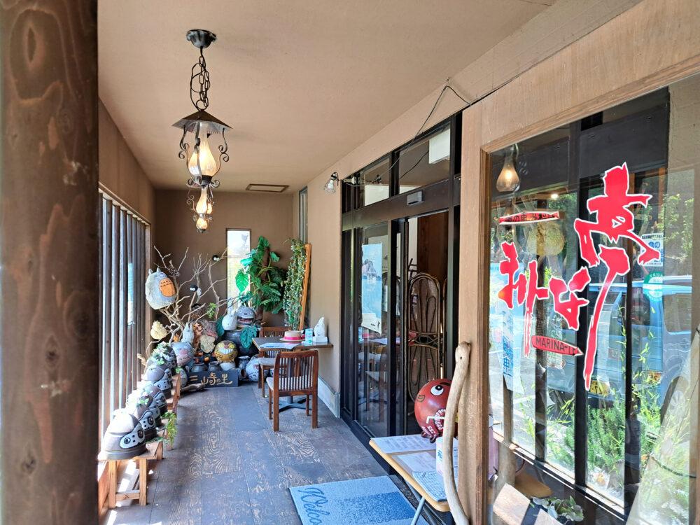 佐田岬半島三崎港の海鮮レストラン まりーな亭メニュー