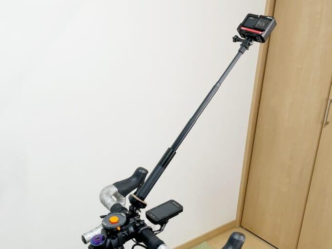 ナオッキィのカメラ自転車固定方法