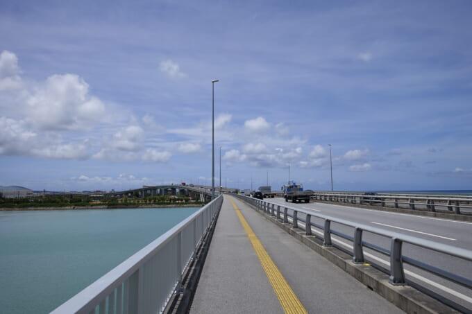 沖縄の豊見城道路の高架