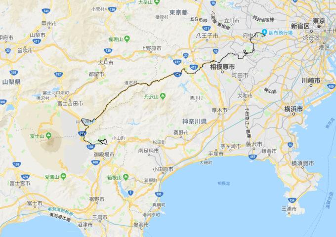 2020東京オリンピック 女子ロードレースのコース