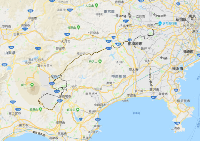 2020東京オリンピック 男子ロードレースのコース