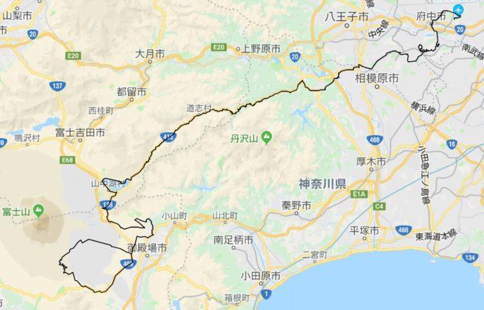 2020東京オリンピック ロードレースコース 男子女子複合コース作成