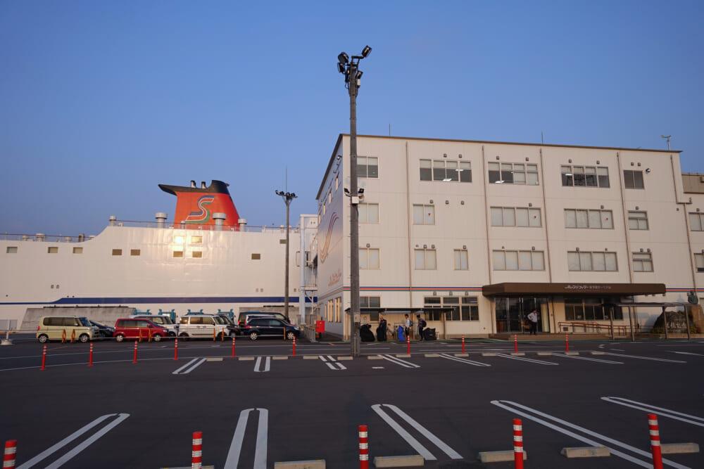 【東予港から今治駅への行きかた】オレンジフェリーからしまなみ海道へ自転車でのアクセス方法