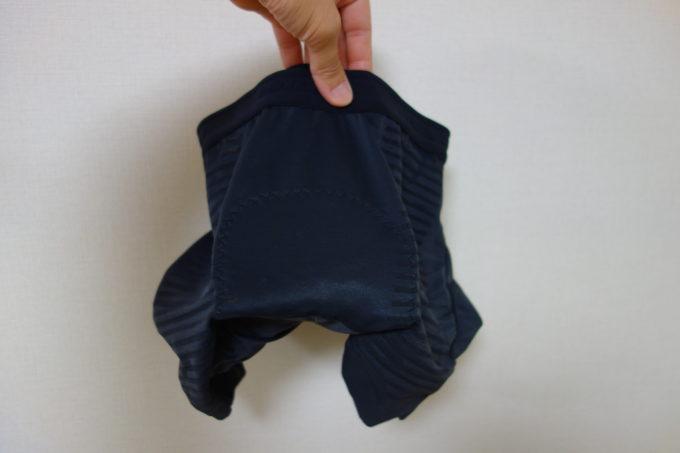 パールイズミのパッド付きインナーパンツ メガメッシュインナーパンツ 持っても曲がらないパッド