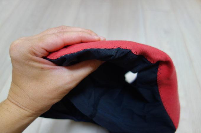 パールイズミのパッド付きインナーパンツ 3DRメッシュインナーパンツ パッドの厚さ