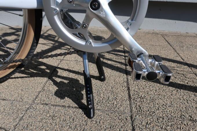 ラレーのミニベロRSMの両足スタンド