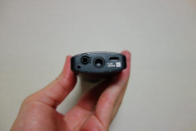 360度カメラ リコーシータV 底面のねじ部分