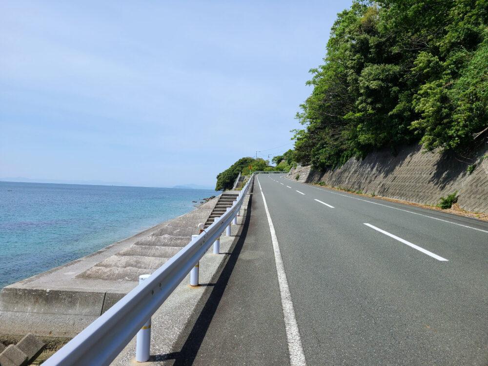 佐田岬の坂