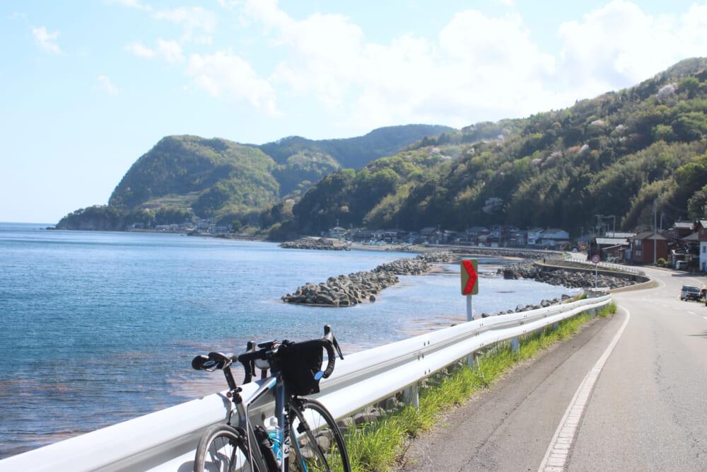 佐渡島一周サドイチ 東岸の景色