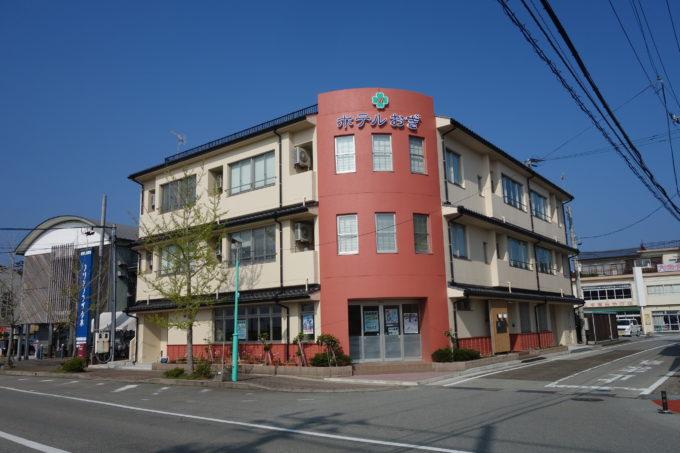 佐渡島 小木港のホテルおぎ