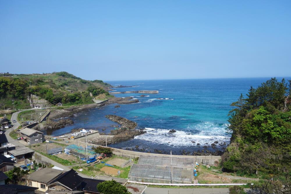 佐渡島一周サドイチ 山越えの景色