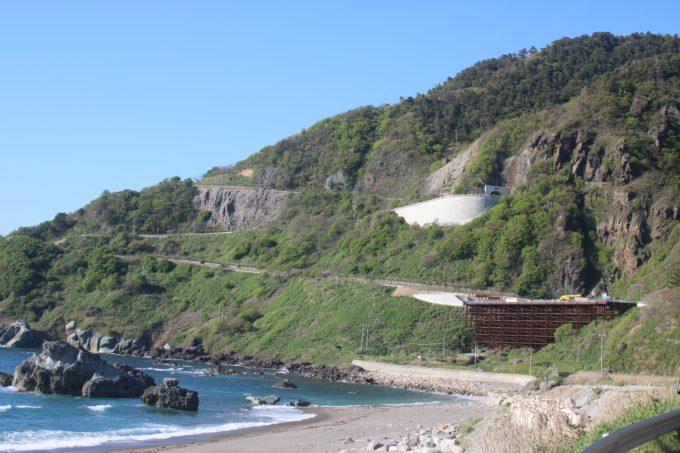 佐渡島一周サドイチ Z坂の近景