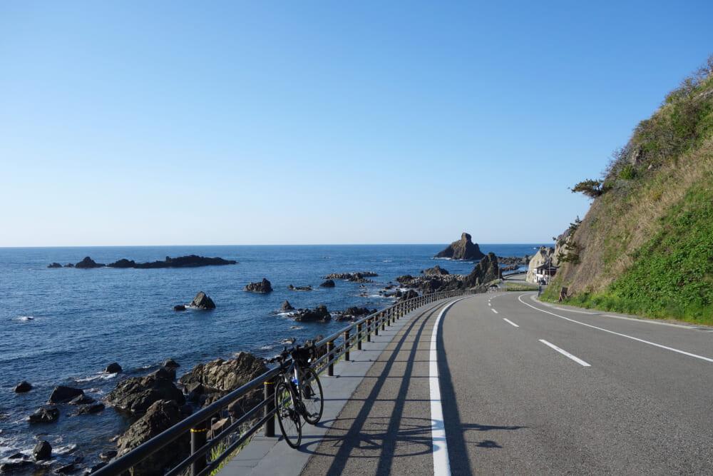 佐渡島一周サドイチ 西岸の景色