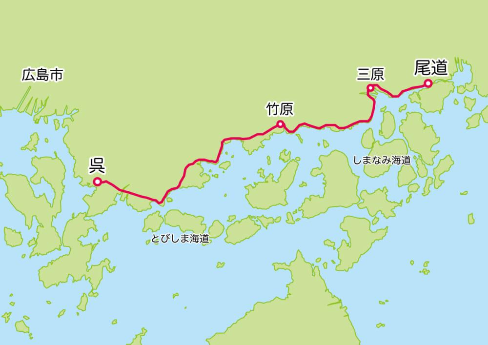 さざなみ海道マップ