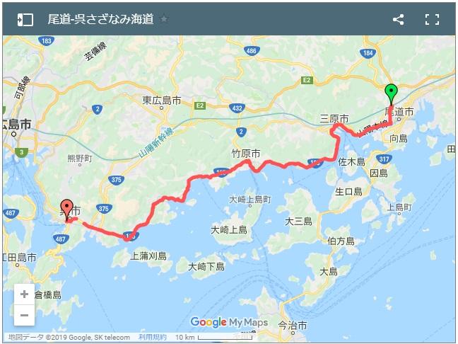 さざなみ海道サイクリングルートログ