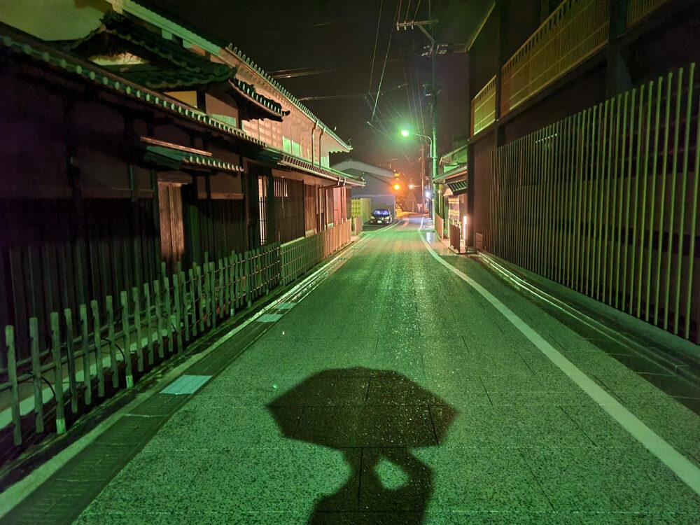 夜の瀬戸田しおまち商店街