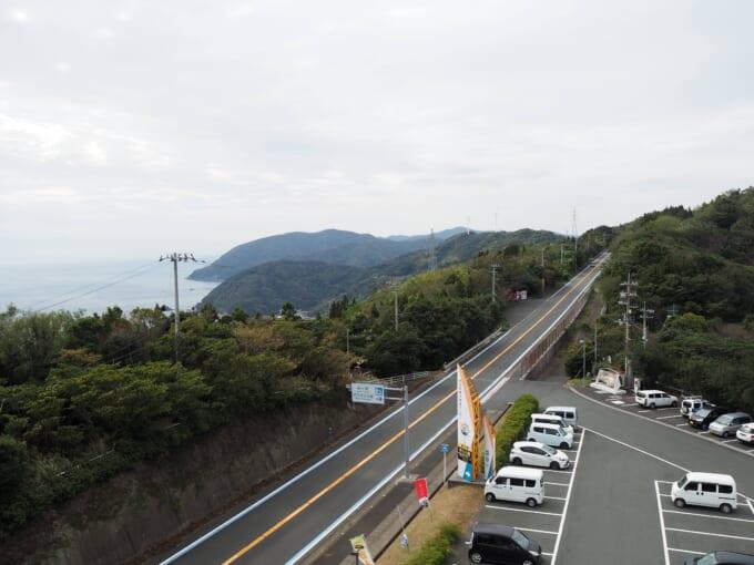 せとかぜ海道 伊方きらら館展望台からの景色