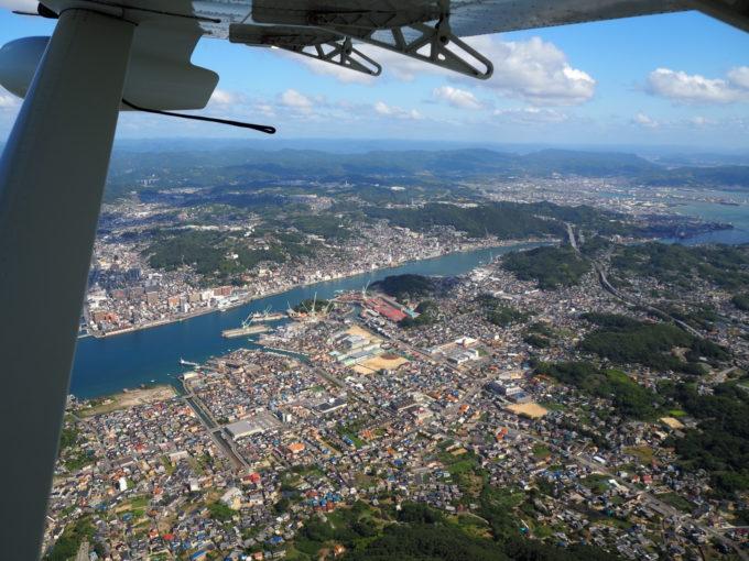 せとうちシープレーン しまなみ海道遊覧飛行 尾道上空