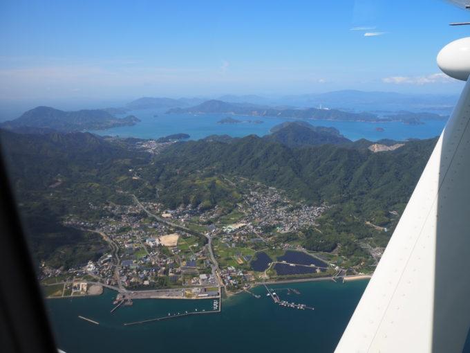 せとうちシープレーン しまなみ海道遊覧飛行 大三島上空