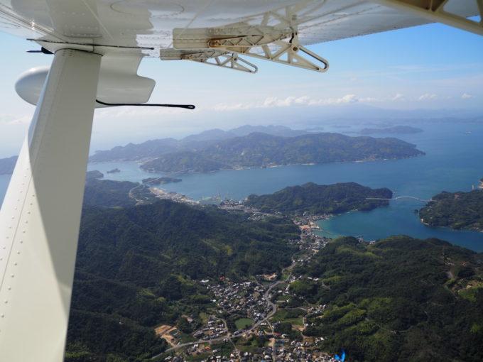 せとうちシープレーン しまなみ海道遊覧飛行 生口島上空
