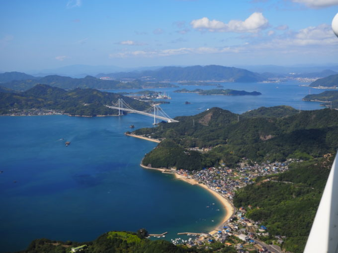 せとうちシープレーン しまなみ海道遊覧飛行 因島大橋
