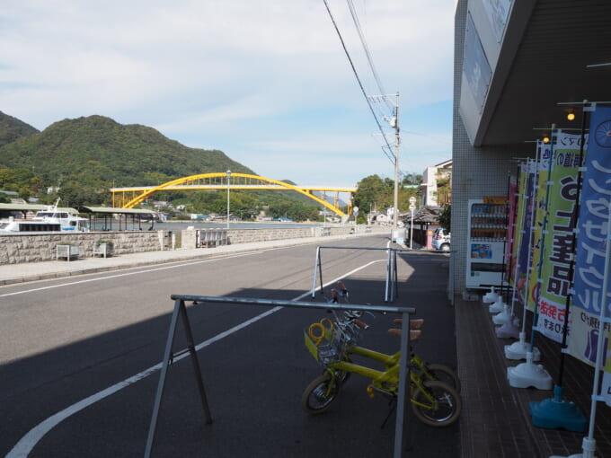 しまなみ海道生口島瀬戸田 しまなみロマンから見る瀬戸田港