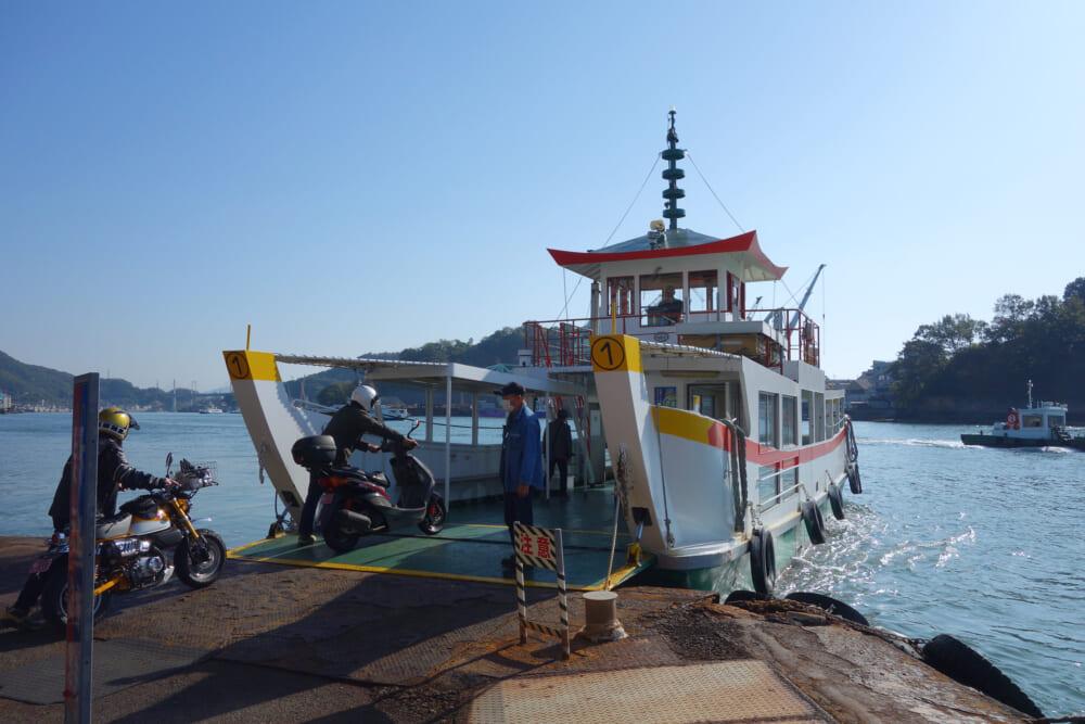 尾道~向島間の渡船