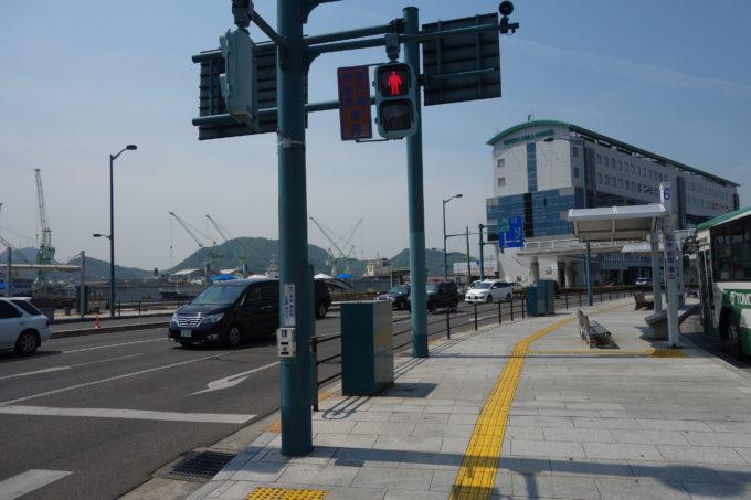 JR尾道駅の駅前風景