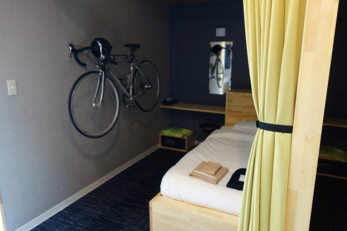 しまなみ海道大三島 サイクリストホテル IKIDANE CYCLIST HOSTEL & CAFE SHIMANAMIのシングル部屋1