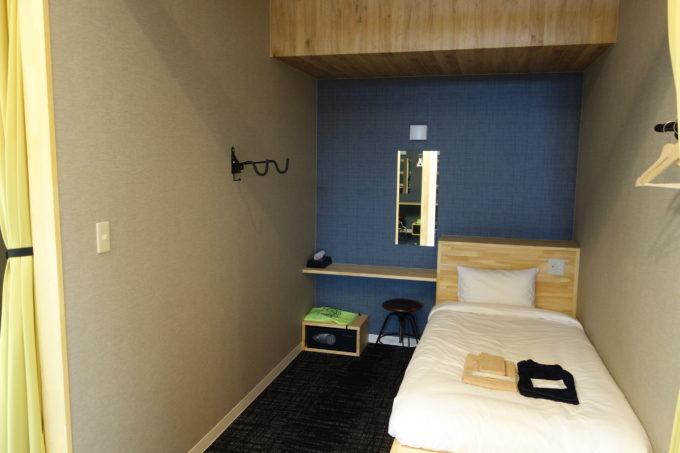 しまなみ海道大三島 サイクリストホテル IKIDANE CYCLIST HOSTEL & CAFE SHIMANAMIのシングル部屋2