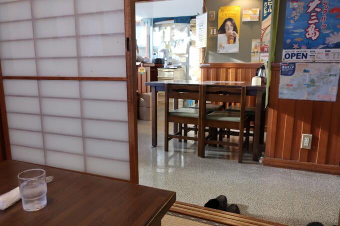 しまなみ海道大三島 海鮮料理くろしお 店内
